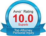 Avvo Top Attorney for Personal Injury